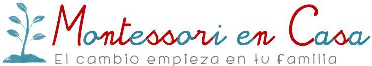 Este blog es excelente y le ayudará a adaptar su hogar y preparar el área de trabajo y juego de su hijo o hija: http://www.montessoriencasa.es/blog/