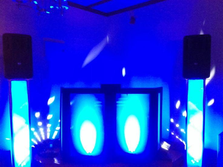 Elegant mobile DJ rig at the Wharerata with DJ Paul Knowler.
