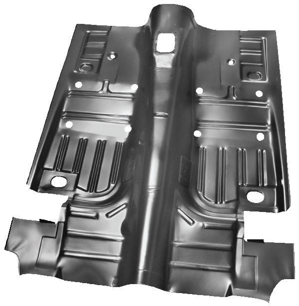 yearone full length floor pan in weld through primer