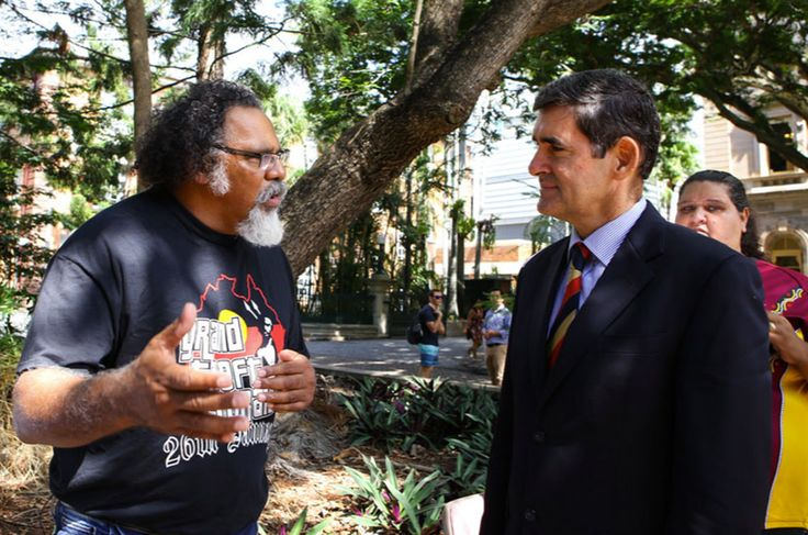 Speaking for Country | Assemble Papers by Murrawah Maroochy Johnson in conversation with Roj Amedi. Photo: Wangan & Jagalingou Traditional Owners Family Council.