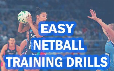 Easy Netball Training Drills & Exercises