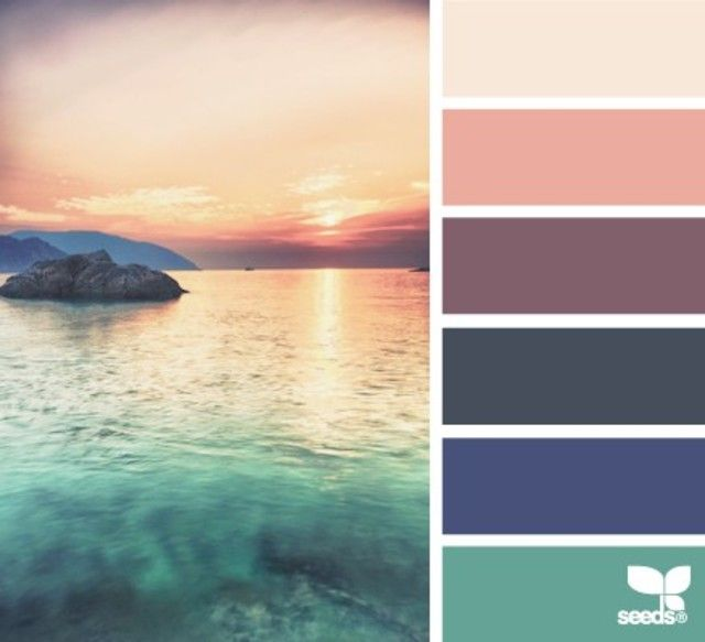 Relaxing Colours: 132 Best Color Schemes Images On Pinterest