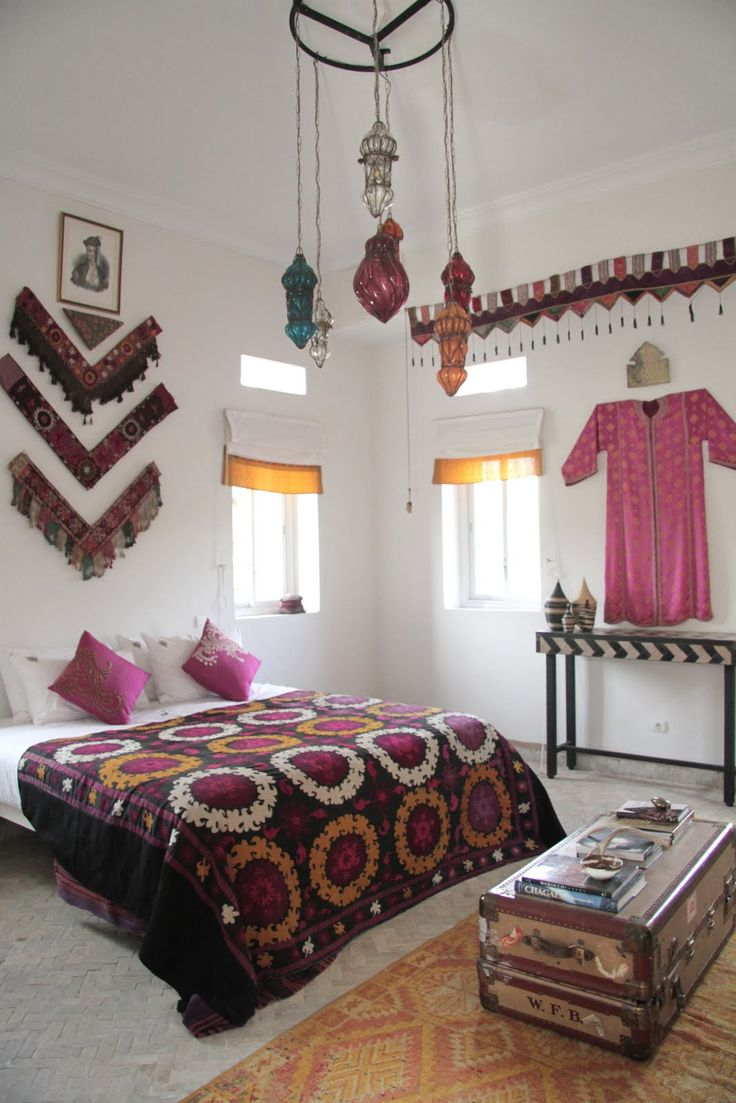 boho decor bedroom bohemian home - Bohemian Bedroom Design
