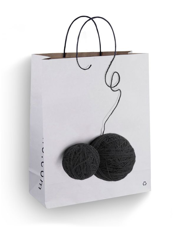 I had some great ideas about designing shopping bags and couldn't resist making them.