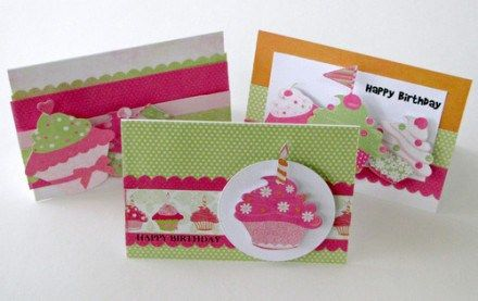 Candy Land Collection Cards by Trudi Harrison
