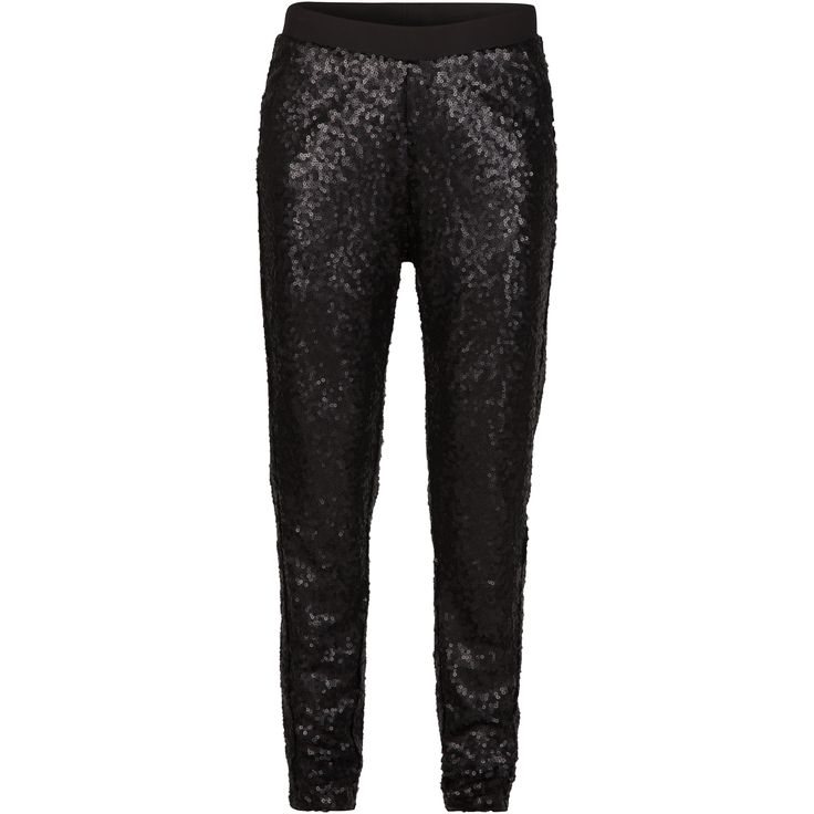 Gry sequin pant #brighten #shine #black #party #elegant #trousers #spangles