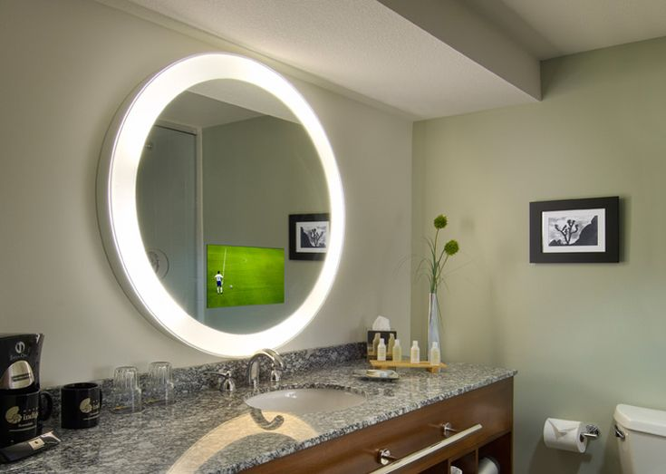 Radiance Electric Mirror TV Because Everyone Needs A That Doubles As