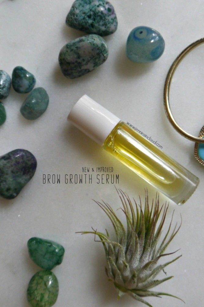 Quite a while ago I shared a brow growth serum. It was a pretty common recipe that contained castor oil and rosemary oil. Recently I've been trying lots of natural, over the counter product…