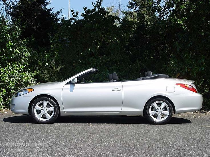 "Toyota Solara. I don't covet many ""newer"" cars, but this is one I do. I have had several Toyotas in my lifetime, including a Camry that went 341,000 miles before it died. Never had a bad experience with one. This is one sweet car. I do not believe they make these anymore."