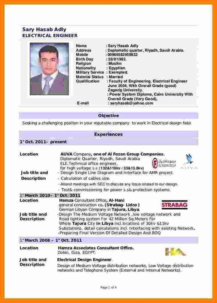 Resume Sample for Fresh Graduate Unusual 5 Cv Template for