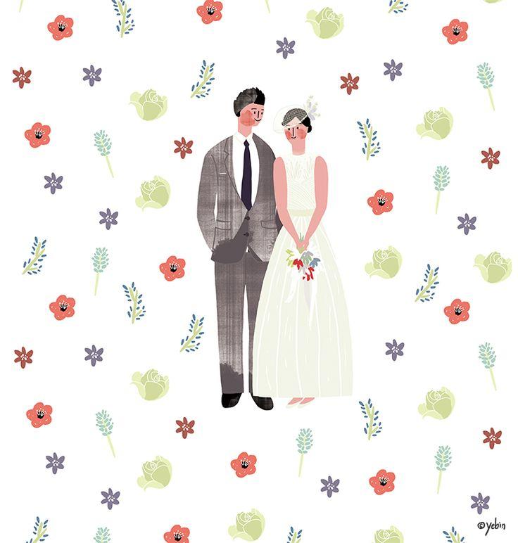 Wedding illust