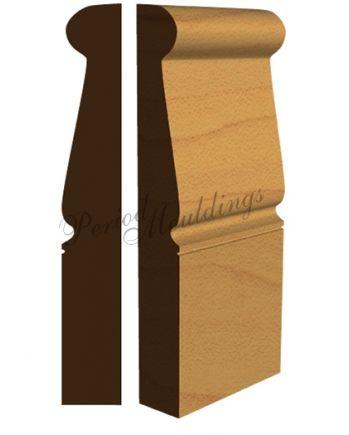 Georgian Skirting Board Brompton | Period Mouldings