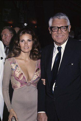 Raquel Welch and Cary Grant circa 1970s