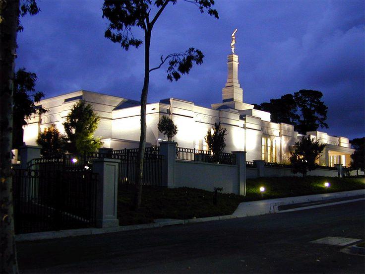 Melbourne Australia Mormon Temple of The Church of Jesus Christ of Latter-day. #LdsTemple #MormonTemple