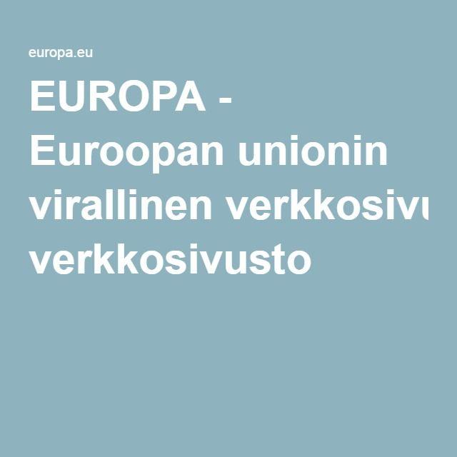 EUROPA - Euroopan unionin virallinen verkkosivusto