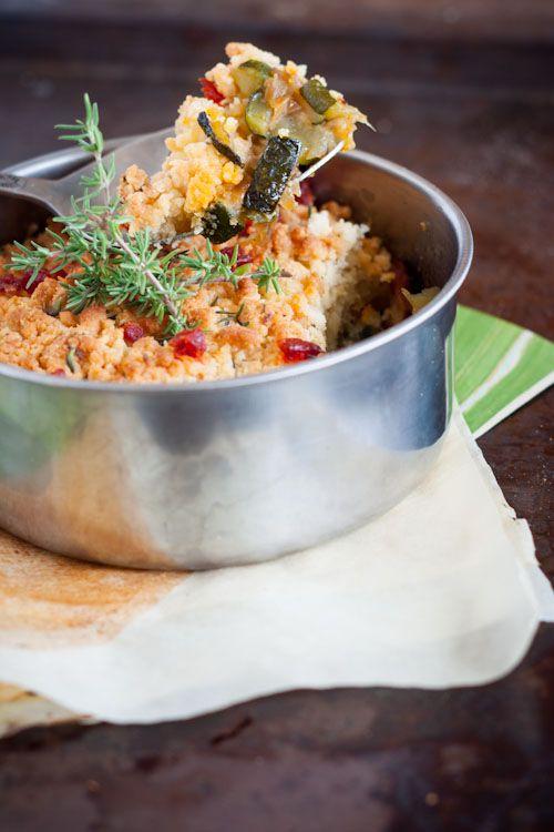 Crumble Chorizo/Courgette