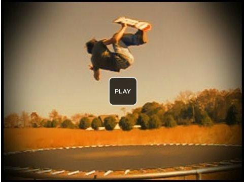 Trampolin Tricks mit dem Skateboard! Trampolin skateboarding! Tramp skating... Hudora Trampolin Zubehör und Ersatzteile! - Trampolinnetz- http://www.Trampolinnetz.com