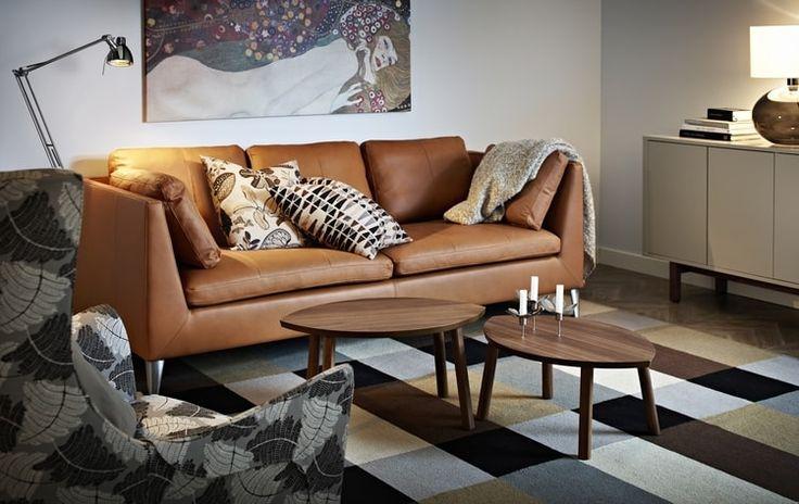 Canapé en cuir Stockholm d'IKEA