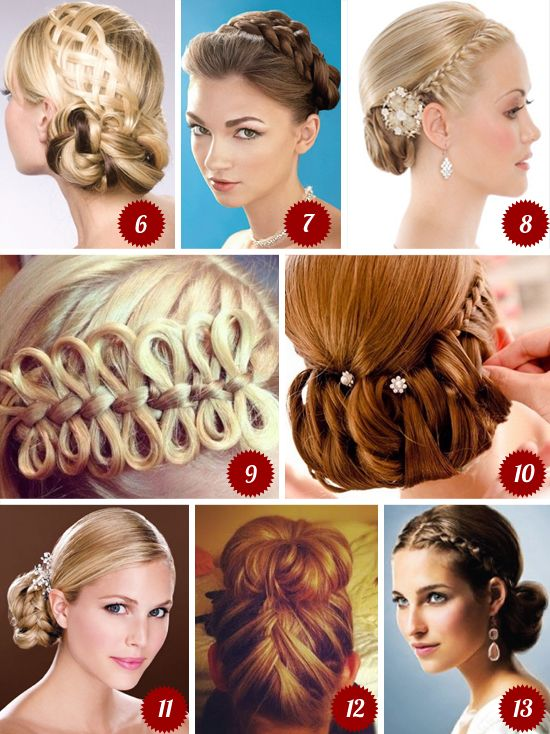 braid wedding hair