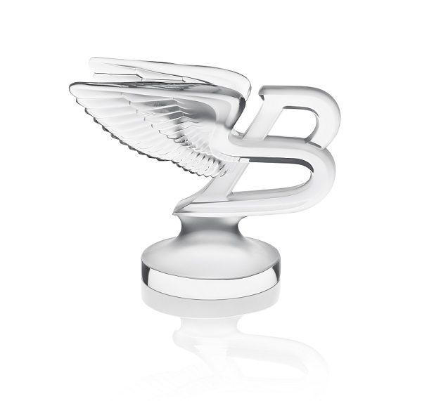 Pin By Bt On Flying B Bentley: Lalique Crystal Paperweight In The Shape Of The Iconic