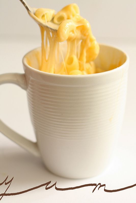 Microwave mac and cheese without cheesish powder?  Yes please!