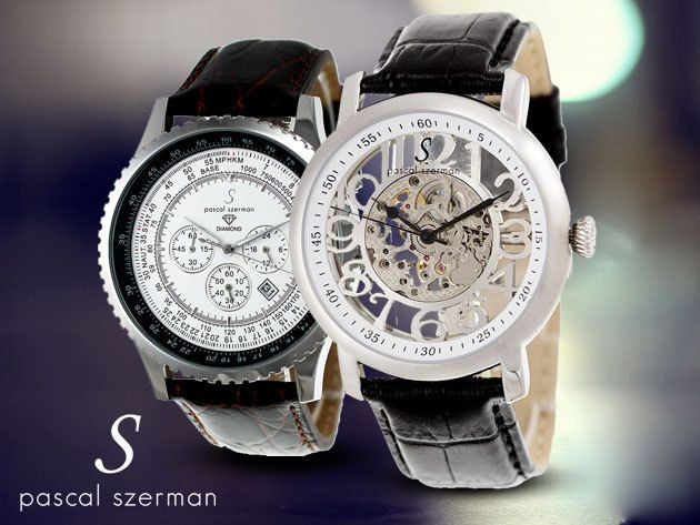 Pascal Szerman francia luxus karórák férfiaknak, stílus és elegancia nagy választékban és hatalmas kedvezménnyel