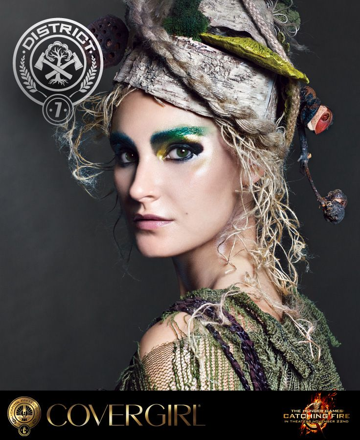 COVERGIRL's District 7 look, Lumber inspired by The Hunger Games: Catching Fire