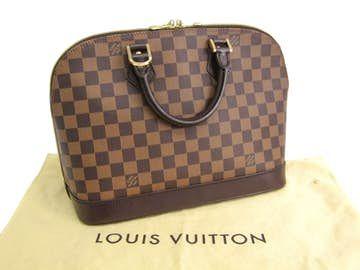 Louis Vuitton |  Bolso de Louis Vuitton Damier Ebene Alma B1043
