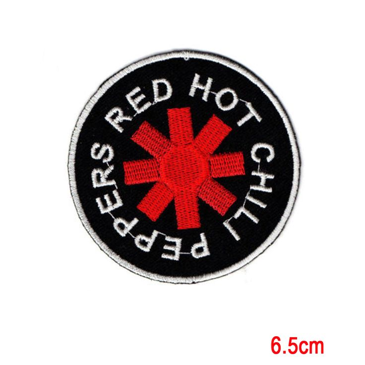 Red Hot Chili Peppers Music Rock Band Applique Iron on Patch Sew For T-shirt  #Affiliate