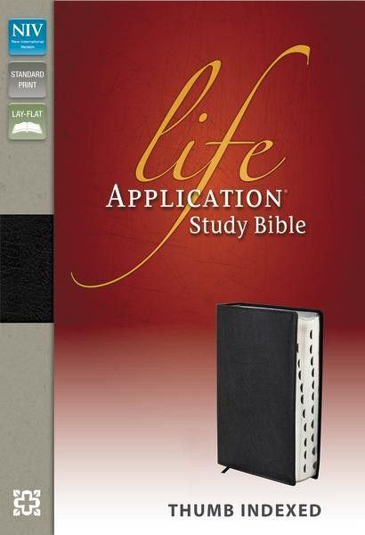 """The Life Application® Study Bible was created for anyone wanting to answer the question, """"What does God's Word mean for my life today"""