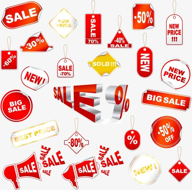 Variety Of Vector Price Tag Design Vector Price Tag Promotions Png Transparent Clipart Image And Psd File For Free Download Price Tag Design Tag Design Vector Free
