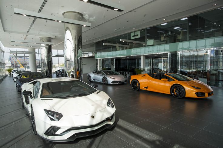 Lamborghini Just Opened Its Largest Showroom Yet – Guess Where