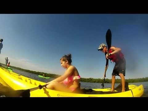 Kayaking at John MacArthur State Park