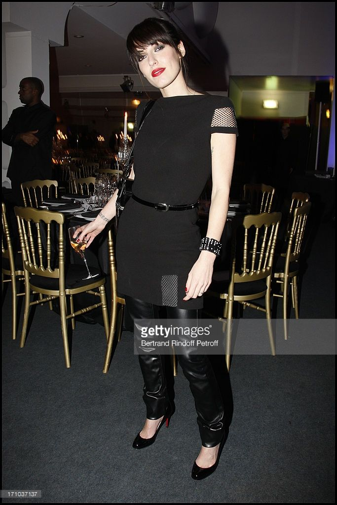 Jennifer Ayache at The Charity Dinner Held In Association With Otm In Aid Of Rwandan Children At L'Espace Pierre Cardin In Paris.