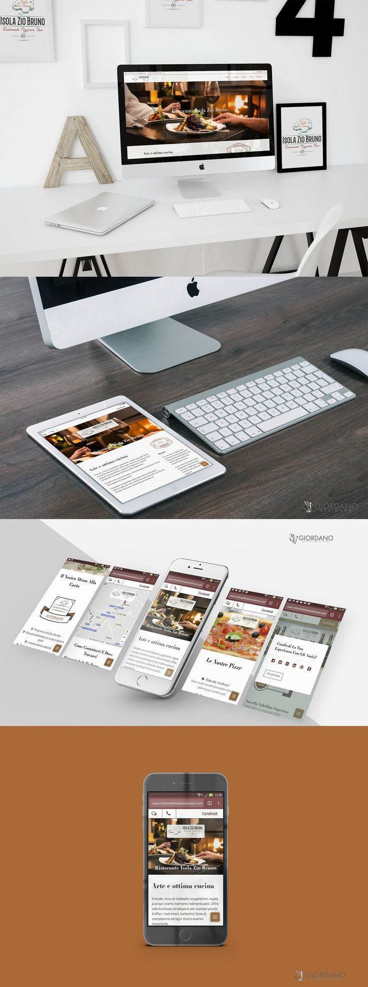 Ready new website for Isola Zio Bruno Restaurant - Bergamo IT ... Full responsive, accessible from all devices such as smartphones and tablets.  #WebDesign #WebTypography #MobileFriendly #UserExperience #WebDeveloper #ResponsiveDesign #SiteOfTheDay #Restaurant #foodporn #foodblogger #foodphoto #Dinner #VisitBergamo