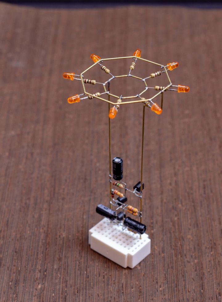 Octagon LED Flower – Mohit Bhoite – #bhoite #electronic #flower #LED #Mohit  – Electronics DIY