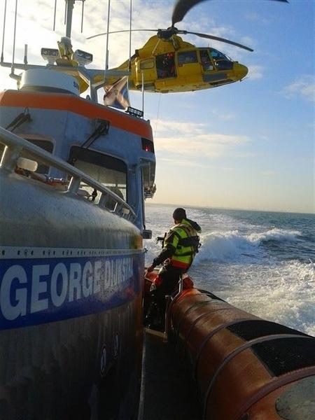 Reddingboot George Dijkstra van KNRM Ter Heijde