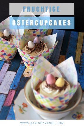 Fruchtige Ostercupcakes