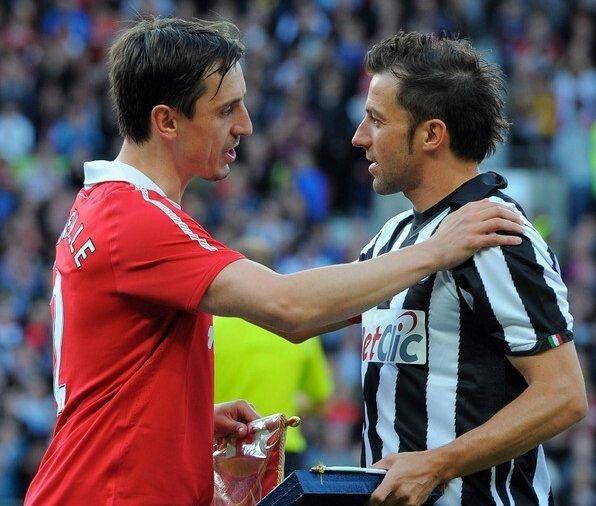 G. Neville vs Del Piero
