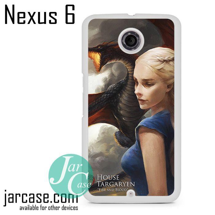 Khaleesi House Targaryen Phone case for Nexus 4/5/6