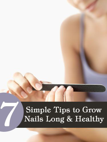 How to grow long nails: So to put an end to all these troubles and to get those long nails you always wanted, here are a few tips to help you on how to grow nails long.