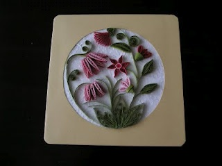 floral quill pattern