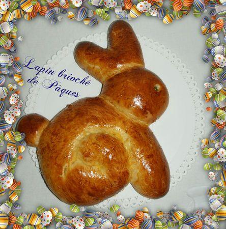 Brioche lapin de Pâques http://passionsdeval.canalblog.com/archives/2012/04/07/23898315.html