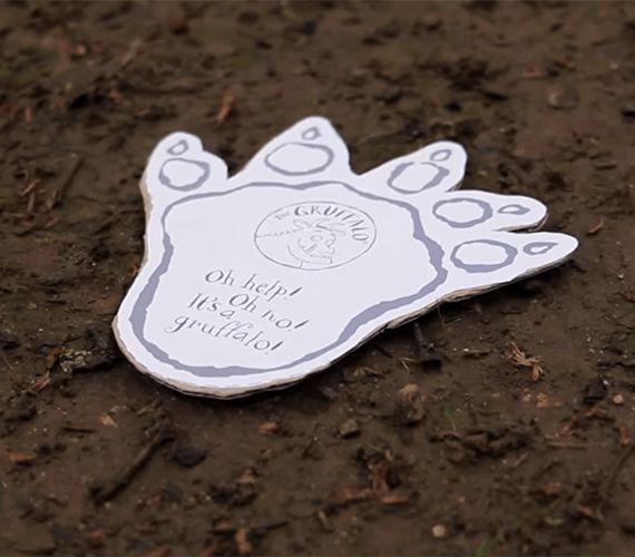 Gruffalo footprint