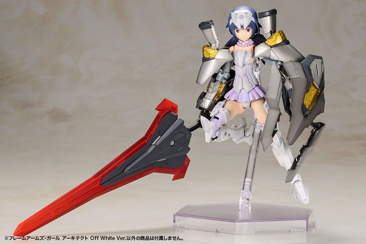 Frame Arms Girl - Architect Off White Ver. Plastic Model(Pre-order)