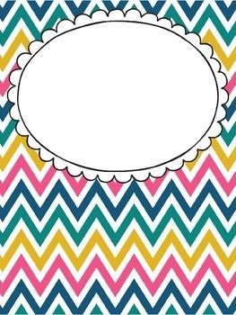 FREE EDITABLE BINDER COVERS -