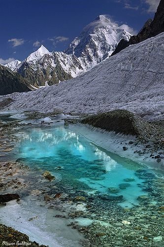 Karakoram Pakistan. It is difficult to imagine Alexander moving his troops over this rough terrain.