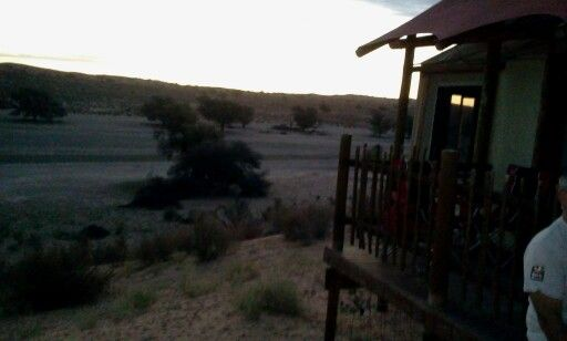 Sun Set, Kgalagadi Rest Camp