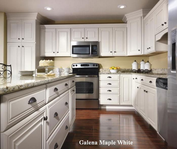Schrock Cabinetry In Galena Maple