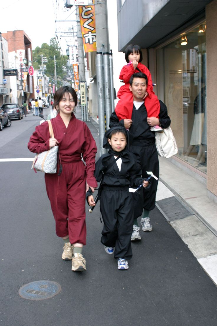 忍者体験 写真